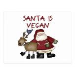 Postales divertidas del navidad del vegano