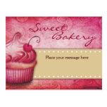 Postales dulces de la panadería