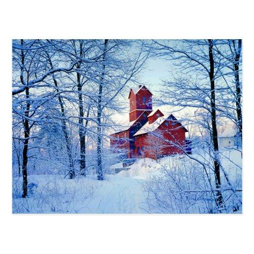 POSTALES   el molino rojo viejo