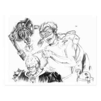 Postales enojadas de Skillustrator