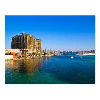 Postales escénicas de la foto del puerto de Destin