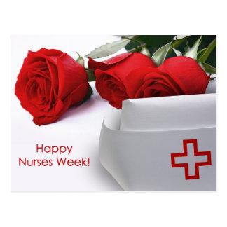 Postales felices de la semana de las enfermeras