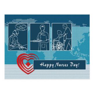 Postales felices del día de las enfermeras
