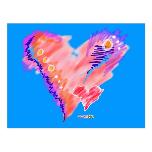 POSTALES - fieltro del corazón