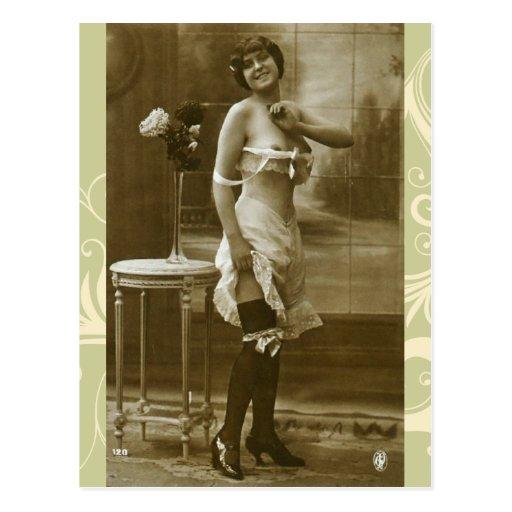 Postales francesas de la foto del gabinete de