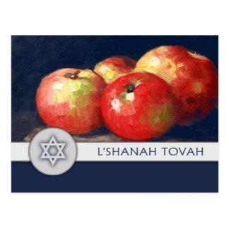 Postales judías de la bella arte del Año Nuevo de