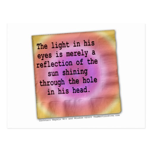 Postales - la luz en la suya observa
