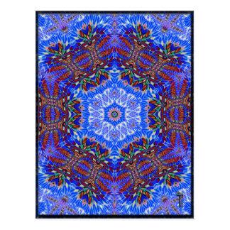 Postales opulentas de la variación 1 del Hexagram