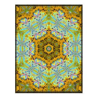 Postales opulentas de la variación 2 del Hexagram