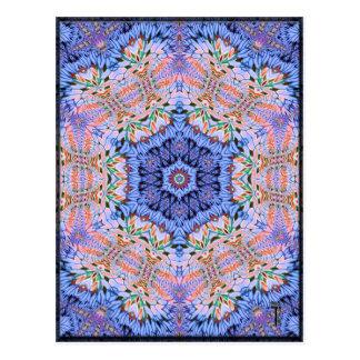 Postales opulentas de la variación 4 del Hexagram