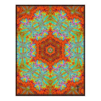 Postales opulentas de la variación 5 del Hexagram