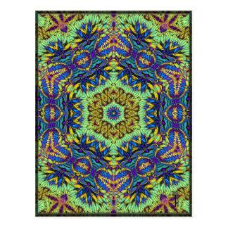 Postales opulentas de la variación 6 del Hexagram
