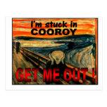 Postales - pegadas en Cooroy