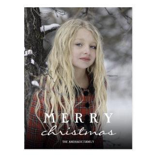 Postales personalizadas del navidad con las fotos