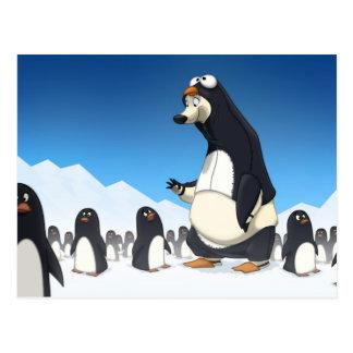 Postales polares del pingüino
