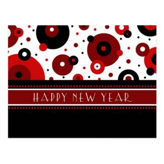 Postales retras de la Feliz Año Nuevo de los círcu