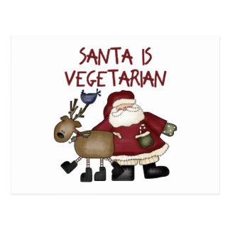 Postales vegetarianas divertidas del navidad
