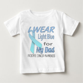 Postate Cancer Awareness Ribbon for Dad Baby T-Shirt