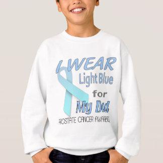 Postate Cancer Awareness Ribbon for Dad Sweatshirt