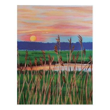 Beach Themed postcard