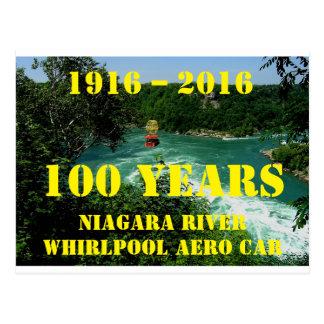 Postcard 100 years Niaga Whirlpool Aero Car