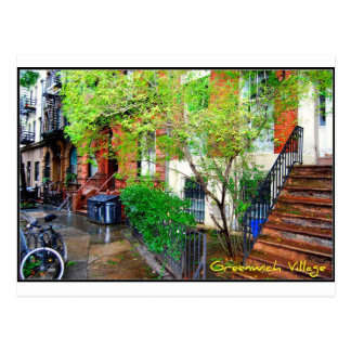 Postcard 1 - Greenwich Village, NYC