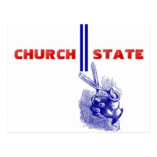 Postcard 1st Amend - Separation of Church State