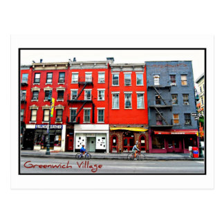 Postcard 3 - Greenwich Village, NYC