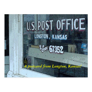 Postcard:  A postcard from Longton, Kansas!