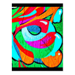 Postcard-Abstract/Misc-Graffiti Gallery 106