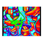 Postcard-Abstract/Misc-Graffiti Gallery 107