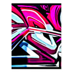 Postcard-Abstract/Misc-Graffiti Gallery 110