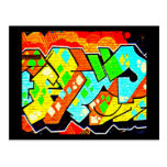 Postcard-Abstract/Misc-Graffiti Gallery 19