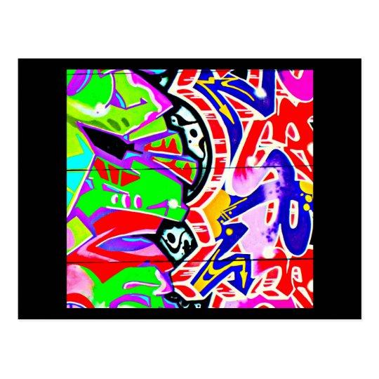 Postcard-Abstract/Misc-Graffiti Gallery 22 Postcard