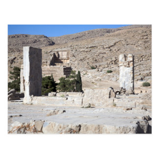 Postcard Achaemid Worsens Ruins, Persepolis Iran
