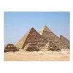 Postcard Al Gizah Pyramids, Egypt