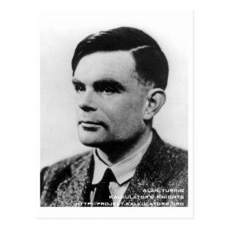 Postcard Alan Turing