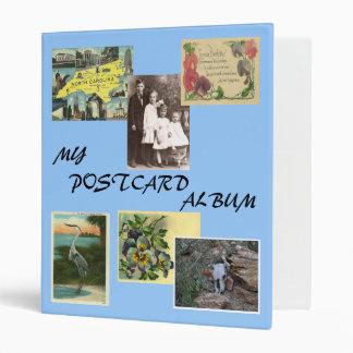 Postcard Album 3 Ring Binder