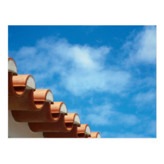 Postcard - Algarve - Roof Detail - Portugal 2