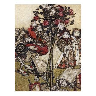 Postcard: Alice and Wonderland - Arthur Rackham Postcard