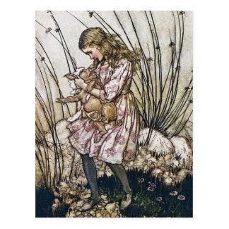 Postcard: Alice and Wonderland - Pig & Pepper Postcard