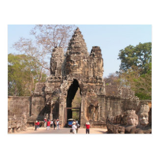 Postcard Angkor Thom, Cambodia