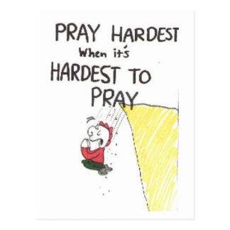 Postcard, animated with funny church sayings postcard