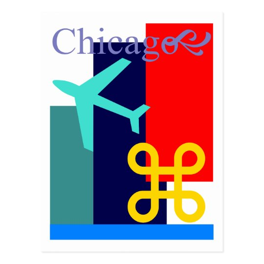 Postcard Announcement Chicago moved move address