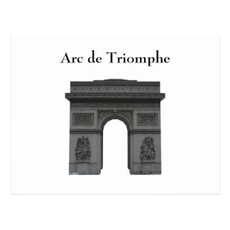Postcard: Arc de Triomphe