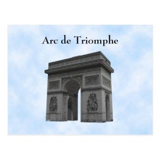 Postcard: Arc de Triomphe Postcard