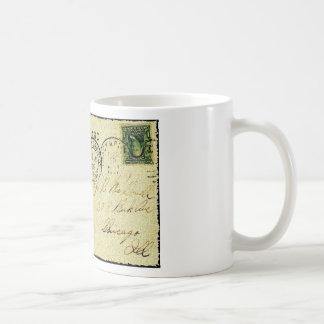 Postcard Art Coffee Mug