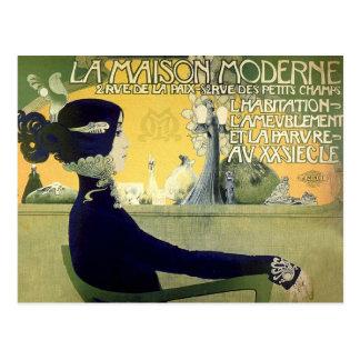 Postcard: Art Nouveau - Privat-Livemont Postcard