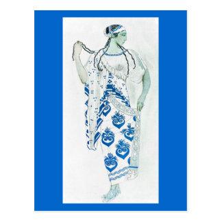 Postcard-Art of Fashion-Bakst 23