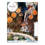 Postcard:  August/ Auot